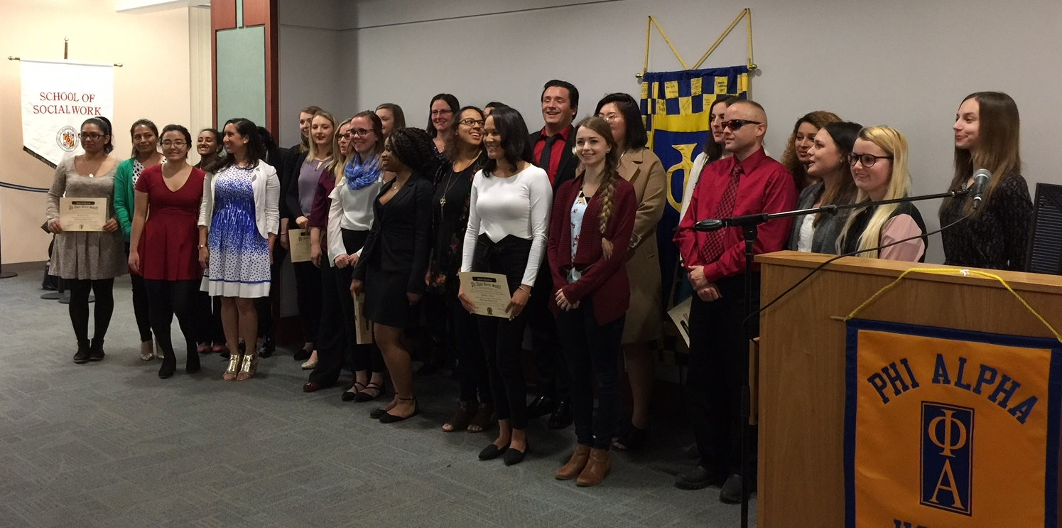 Phi Alpha Induction 2018