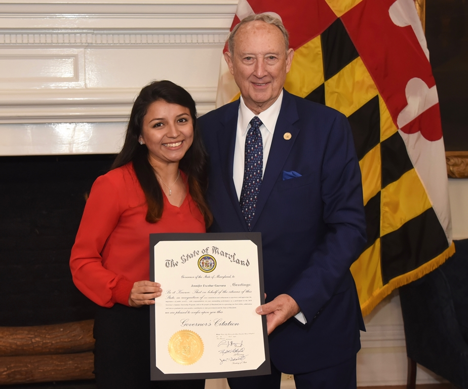 USG Student Jenny Escobar Guevara Completes Governor's Summer Internship Program